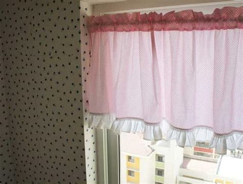 country blue polka dot cafe kitchen curtain 001 ebay