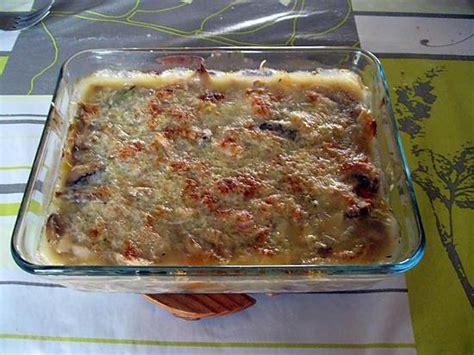 recette de gratin de restes de poule au pot