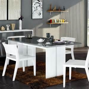 table de salle a manger grise conceptions de maison blanzza