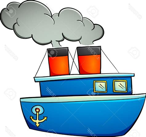 Cartoon Drawing Of A Boat by Top Cartoon Boat Clip Art Drawing Vector Art Library