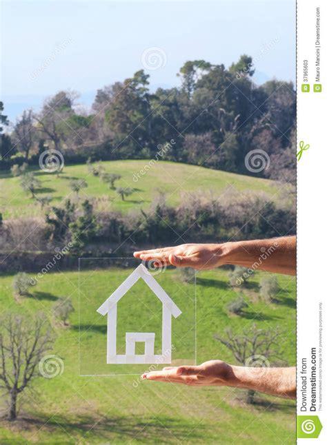 dessin 224 la maison dans les collines photos stock image 37965603