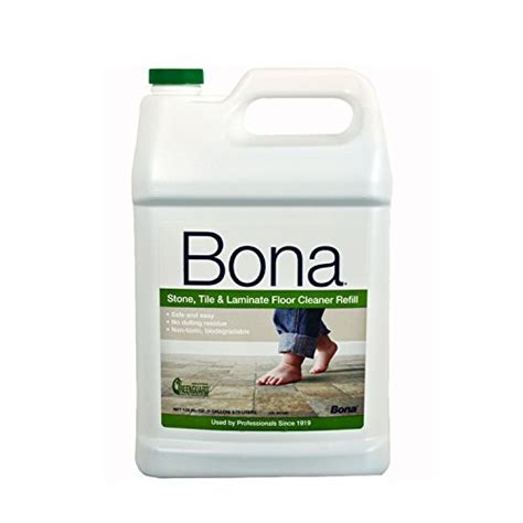 bona tile and laminate floor cleaner refill 128 ounce new