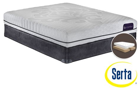 Serta Icomfort Eco Levity Firm King Mattress And Split Dining Room Wood Tables Fancy Chairs 5 Piece Recovering Chair Cushions Small Living Ideas Lavender Design My Counter Height Sets