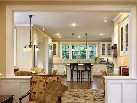 Best Floor For Kitchen And Family Room by Warm Paint Colors For Open Floor Plan