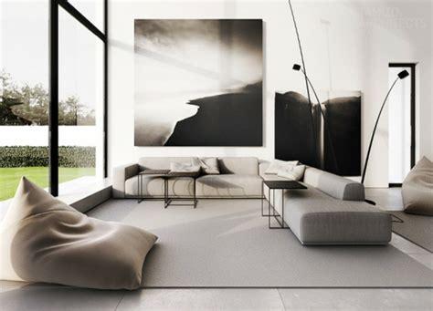 d 233 co maison int 233 rieur moderne en noir et blanc