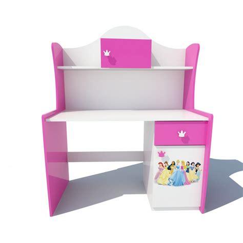bureau fille pas cher bureau chambre enfant couleurs et design au choix