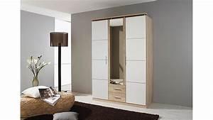 Kleiderschrank Eiche Sonoma : kleiderschrank micro wei sonoma eiche mit spiegel 136 cm ~ Markanthonyermac.com Haus und Dekorationen