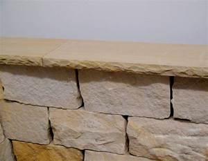 Was Ist Sandstein : sandstein mauerabdeckung bossiert sandstein natursteine ist ein direktimport wir bieten ~ Markanthonyermac.com Haus und Dekorationen