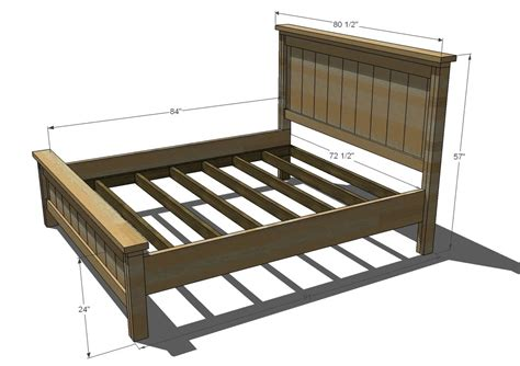 King Size Bed Woodworking Plans by Bed Plans King Size Free Pdf Woodworking Free