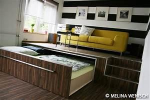 Podest Mit Ausziehbarem Bett : bett podest google suche pinteres ~ Markanthonyermac.com Haus und Dekorationen