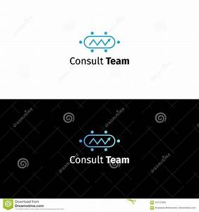 Consulting Business Logo. Data Analytics Company Sign ...
