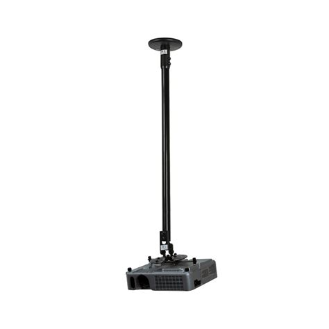 b tech projector ceiling mount 1m drop black tradeworks