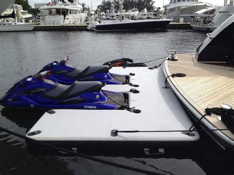 Blow Up Boat Dock by Inflatable Jet Ski Dock 300 X 500cm