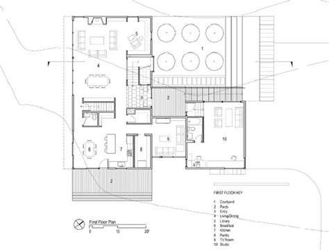 contemporary courtyard house plan simple contemporary courtyard house plan that you want