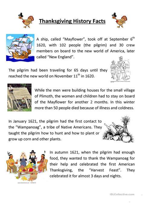 Usable Thanksgiving Comprehension Worksheets Goodsnyccom