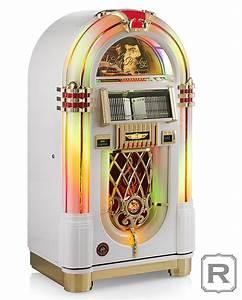 Rock-Ola Jukebox Elvis Presley Edition White   Rock-Ola ...