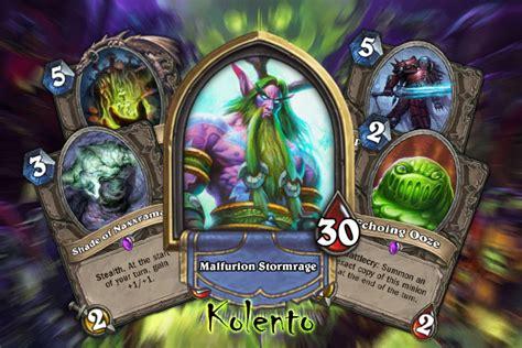 kolento s naxx druid deck to fight for top legend
