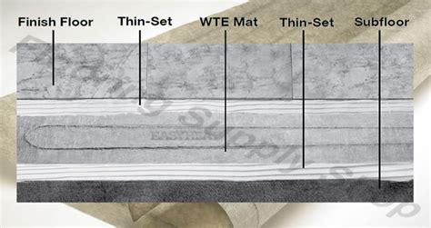 easy heat warm tile elite mat 7 5 sq ft by flooringsupplyshop