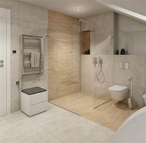 Badezimmer Renovieren Ohne Fliesen : ebenerdige dusche in 55 attraktiven modernen badezimmern ~ Markanthonyermac.com Haus und Dekorationen