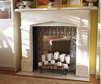 faux fireplace ideas DIY Faux Fireplace • The Budget Decorator