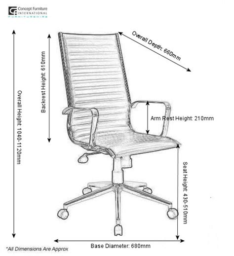 eames style ribbed swivel office chair hire