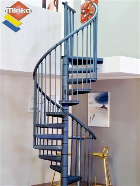 escalier h 233 lico 239 dal minka rondo color anthracite 216 120 cm escaliers en colima 231 on h 233 lico 239 dal