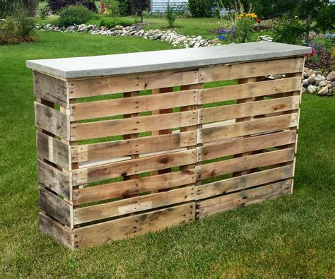 Diy Pallet Bar Ideas And Projects  Elly's Diy Blog
