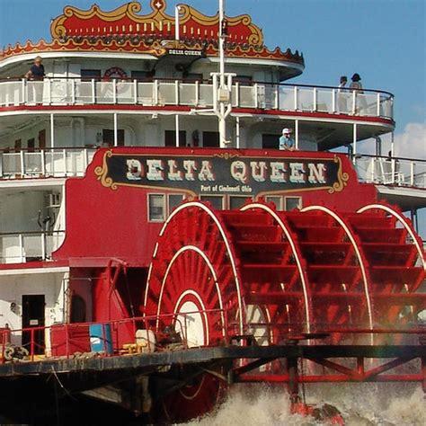 Delta Queen Boat by Delta Queen National Trust For Historic Preservation