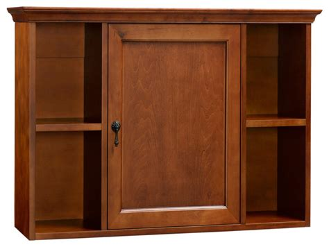 ronbow traditional bathroom wall cabinet colonial cherry
