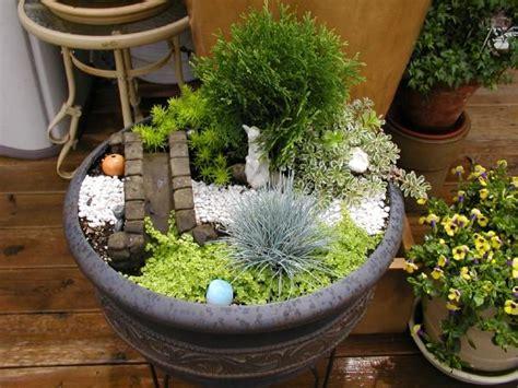 Fairy Garden In A Container Hometalk