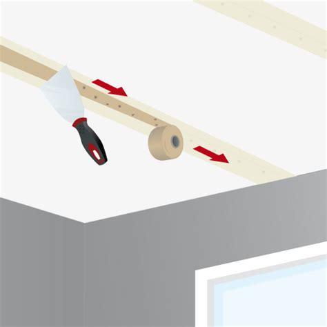 jointoyer les plaques de pl 226 tre d un plafond plafond