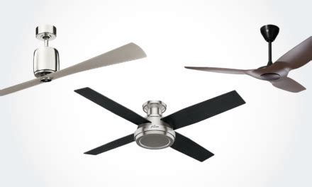 11 best modern ceiling fans with lights remote without
