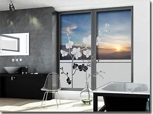 Fenster Blickschutz Folie : sichtschutzfolie orchidee ~ Markanthonyermac.com Haus und Dekorationen