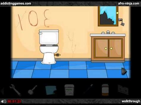 addicting escape the bathroom walkthrough