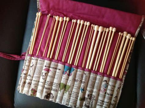 un rangement pour les aiguilles 224 tricoter de mamy cocotte avec lafeflo on bricole on