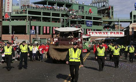Duck Boat Red Sox Parade by Jake Peavy Bought Duck Boat After Red Sox Victory Parade