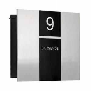 Briefkasten Edelstahl Design : briefkasten holz und edelstahl ~ Markanthonyermac.com Haus und Dekorationen