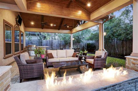 Memorial Area Outdoor Living Space  Texas Custom Patios