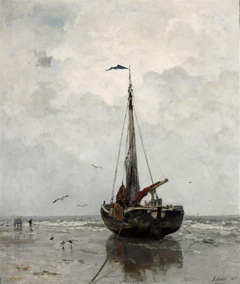 Fishing Boat Art by Haagse School Schilderkunst Wikipedia