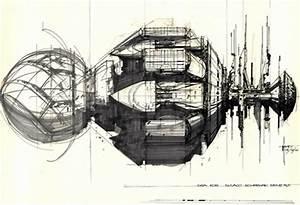'Alien' concept-art – Syd Mead   Simotron