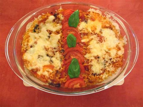 recettes de gratin de pates a la tomate