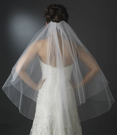 Double Tier Veil In Fingertip Length With Crystal & Pearl. Unique Wedding Entrance Ideas. Wedding Invitation Fonts In Word. Wedding Invitations Bride's Name. Best Wedding Invitations On A Budget. Wedding Reception Venues Finger Lakes Ny. Best Quality Wedding Invitations. Wedding Invitation Paper Kits. Wedding Dresses Escondido