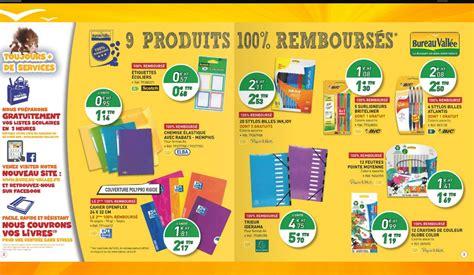 fournitures scolaires gratuites chez bureau vall 233 e car 100 rembours 233 es bons plans et astuces