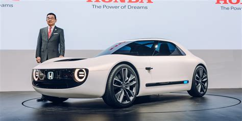 Honda Unveils Allelectric Sports Car Concept Based On New