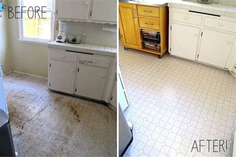 Kitchen Linoleum Floor Before & After...clorox, Water And House & Home Furniture California List For New Sale Contemporary Theater Asda Garden Better Homes And Gardens Patio Cushions Ashley Store Prices