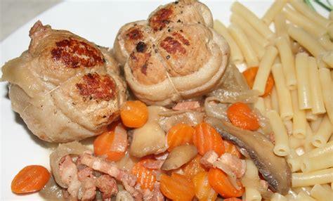 cuisiner des paupiettes paupiettes de 28 images paupiettes de porc aux chignons le de