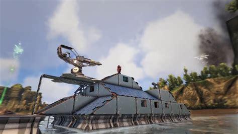 Ark Boat Youtube by Ark Motorboat Build 2 Youtube