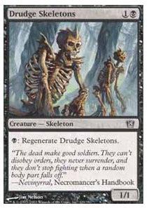 black blue unblockable creatures deck proxy mtg vault