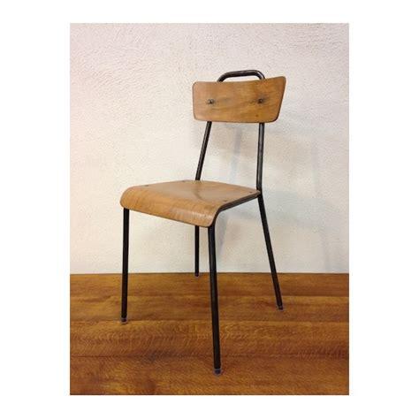 chaise ecolier vintage maison design deyhouse