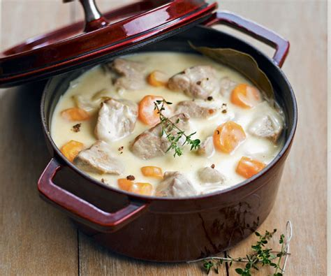 recipe veal blanquette